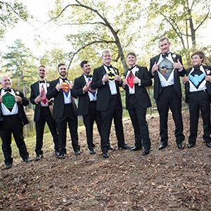 Celebrate Tuxedos Wedding Pine Mountain Club Chalets Pine Mountain GA