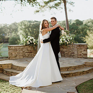 Celebrate Tuxedos Flat Creek Country Club Wedding Peachtree City GA