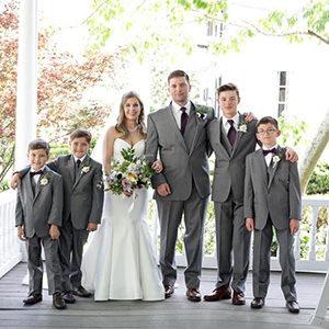 Celebrate Tuxedos Lillian Gardens Wedding Newnan GA
