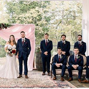 Celebrate Tuxedos Venue At Murphy Lane Wedding Newnan GA